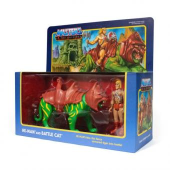 Masters of The Universe™ ReAction™- Doppelpack - HE-MAN® & BATTLE CAT®